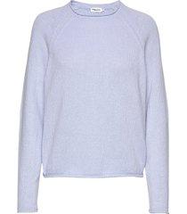 dahlia sweater gebreide trui blauw filippa k