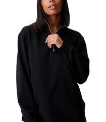 women's classic 1/4 zip pullover sweater
