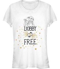 fifth sun harry potter dobby is a free elf women's short sleeve t-shirt