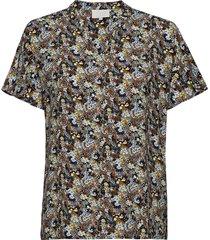 cesena blouse blouses short-sleeved multi/mönstrad minus
