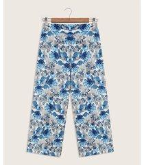 pantalón culotte tiro alto
