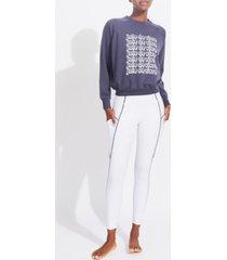kensie women's raglan joie de vivre sweatshirt