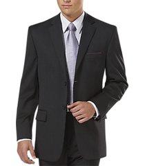 pronto uomo platinum executive suit separates coat charcoal