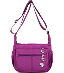 crossbody impermeabile per donne borsa outdoor casual nylon shoulder borsa