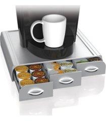 mind reader 36 capacity k-cup, dolce gusto, cbtl, verismo, single serve coffee pod holder drawer