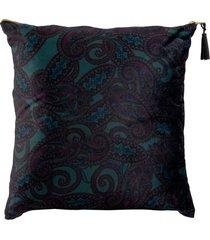 almofada decorativa de veludo pavia