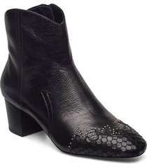 boot 3,5 cm shoes boots ankle boots ankle boot - heel svart sofie schnoor