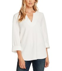 vince camuto textured tunic