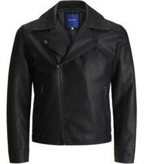 jack & jones men's nolan biker jacket