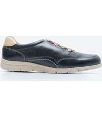 sneakers casual hombre freeport zmwo azul