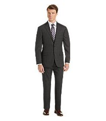 1905 collection slim fit windowpane plaid men's suit with brrr°® comfort by jos. a. bank
