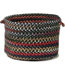 colonial mills chestnut knoll braided storage basket