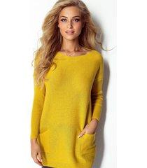sweter z kieszeniami