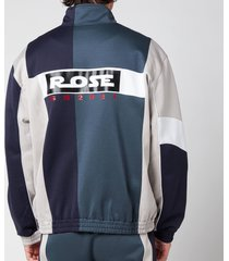martine rose men's mintessa track jacket - dark grey/black - m