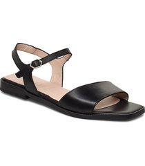 a-1404 shoes summer shoes flat sandals svart wonders