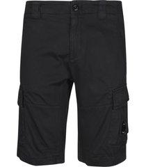 c.p. company cargo pocket detail shorts