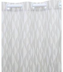 cortina  santista 230x280 londres isis cinza - cinza - dafiti
