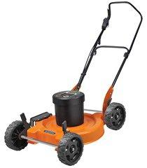 cortador de grama 2500w 220v ce45m preto e laranja
