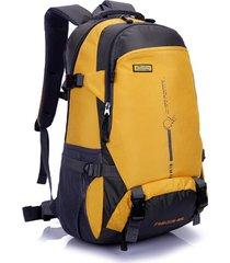 mochila hombre y mujere mochila de alpinismo al aire libre