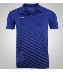 camisa polo lotto bastazani - masculina - azul