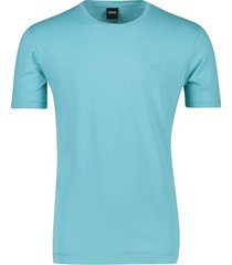 lichtblauw t-shirt hugo boss lecco