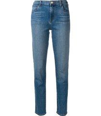 j brand ruby skinny jeans - blue
