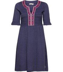 expressive move dress kort klänning blå odd molly