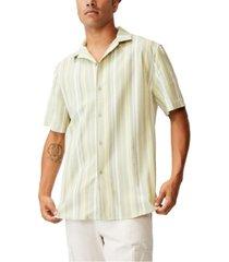 men's textured short sleeve shirt