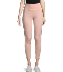 women's juicy couture x kappa enrica leggings - pink blush - size s