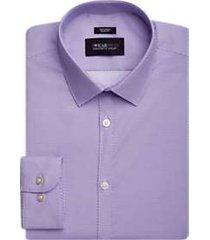 awearness kenneth cole purple diamond slim fit dress shirt