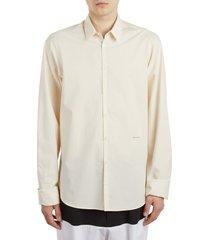 men's raf simons history of the world slim fit cotton shirt