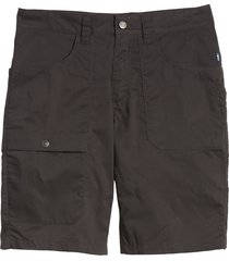 men's fjallraven vardag lite hiking shorts, size 40 us/ 58 eu - grey