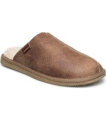 hugo slippers tofflor brun shepherd