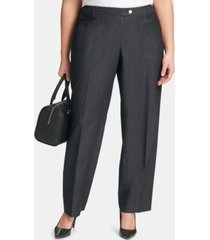 calvin klein plus size modern dress pants