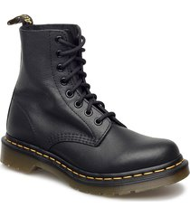 1460 pascal black virginia shoes boots ankle boots ankle boot - flat svart dr. martens