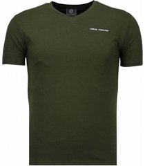 basic exclusieve v neck - t-shirt
