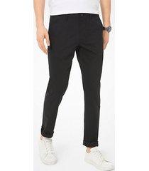 pantalone chino slim-fit in in popeline delave