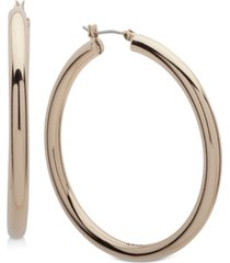 "dkny 2"" thick hoop earrings, created for macy's"