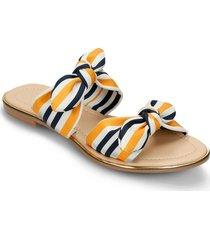 sandalias amarillo bata vaomi mujer