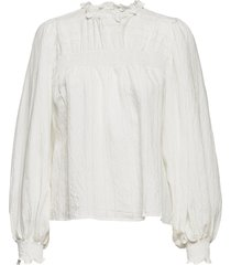 byimmy blouse - blus långärmad vit b.young