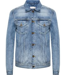 'inverness' denim jacket