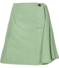 aalto straight mini skirt - green