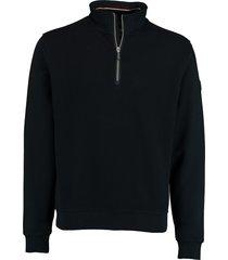 baileys sweatshirt met ritsje donkerbl 203116/105
