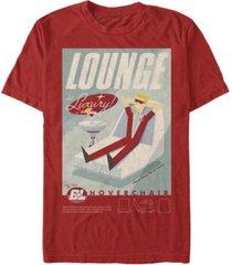 fifth sun men's lounge poster short sleeve crew t-shirt