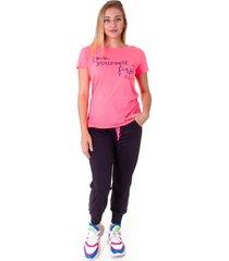 camiseta operarock t-shirt pink