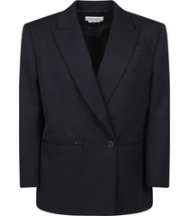 alexander mcqueen double-breasted jacket