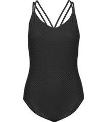 aimeiw swimsuit baddräkt badkläder svart inwear