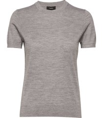 basic tee p.regal wo t-shirts & tops short-sleeved grå theory