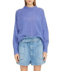 women's isabel marant blouson sleeve mohair & wool blend sweater