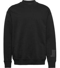 hector-jljl sweat sweat-shirt trui zwart j. lindeberg